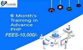 6 Months PHP (Web Development) Training