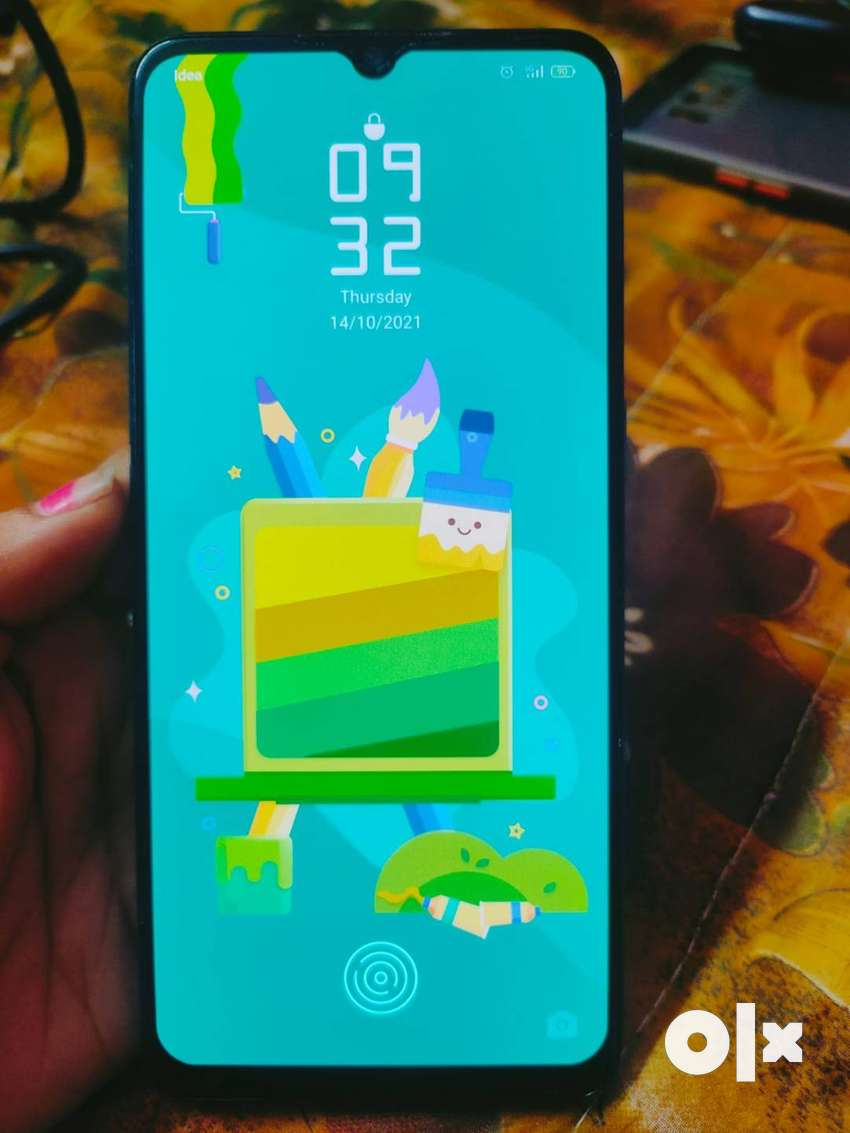 F17   Premium Finish   6 GB   128 GB  with back screen cover and guard