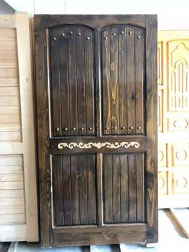 Solid doors, fancy doors, designer doors, wooden doors, double sided
