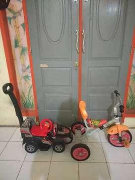 Jual sepeda&mobil mainan