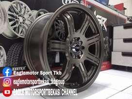 Velg mobil racing Kijang Innova Ring 18x8 HSRWHEEL Siak