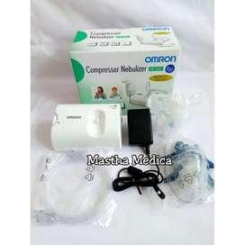 Compressor Nebul Nebulizer Alat Uap Asma Batuk Pilek Omron NE C801