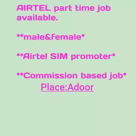 AIRTEL part time job available