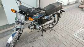 Road Prince 70CC (CD70 BLACK COLOUR BIKE/MOTORCYCLE)