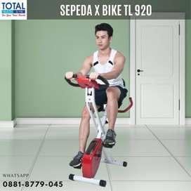 Alat Olahraga Sepeda Fitness X  Bike Total Fitnesss Bisa Dilipat