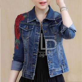 Lollipop Denim Jacket and Jeans and More