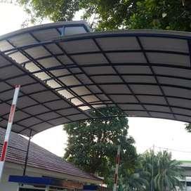 Teralis dan canopy atap sepandek,alderon