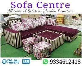 Iwhs32 new L sofa set