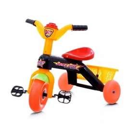 Sepeda Anak Tricycle Musik - Sepeda Balita Roda 3 Rodatiga Plastik Oke