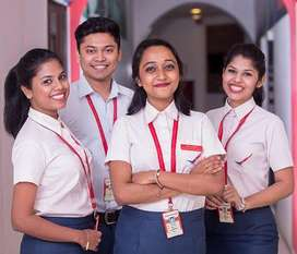 Training cum placements in Airport sector