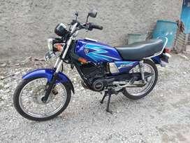 Rx King taun 2003 asli birunya cinta ss komplit plat B bekasi pajak
