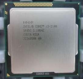Processor Core i3 2100 3.1GHz