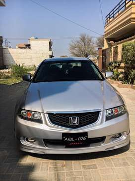 Honda accord cl9 S Package