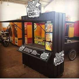 Container Booth / Container stand untuk usaha kekinian anda