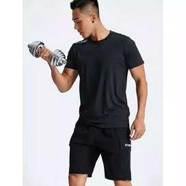 Baju kaos olahraga high quality high strech breathable
