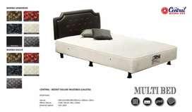 Springbed Bedset (No.2) uk. 160 x 200 Central Baru   COD