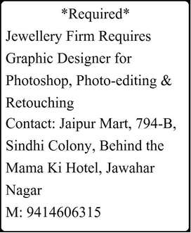 Photo Grapher With knowledge of Photo Shop Required Urgent
