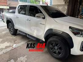 Over fender hilux rocco 2021