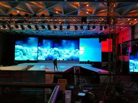 Led wall, Tv, projector for rental