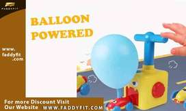 Children Balloon Car Inertia Power Educational Toys