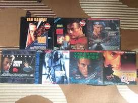 Laserdisc film-film Jean Claude Van damme