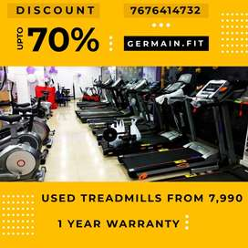 USED MOTORISED TREADMILLs 7,990 onward 1 YEAR WARRANTY 20 Models Have