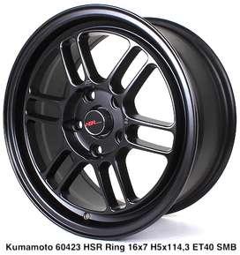 type KUMAMOTO 60423 HSR R16X7 H5X114,3 ET40 SMB