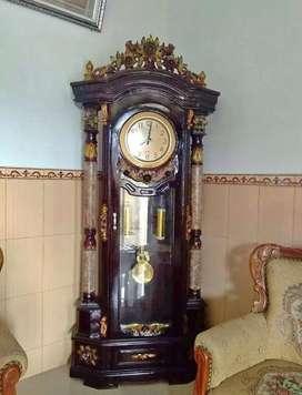 Lemari rak jam asli Jepara