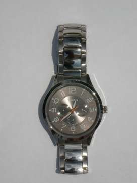 Timex Fashion Analog Silver Dial Men's Watch