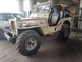 Totally modified jeep