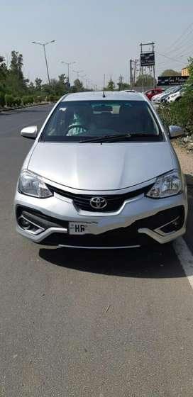 Toyota Etios Liva G, 2018, Petrol