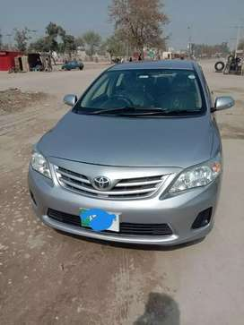 Toyota Corolla Gli 2013 on easy Installment