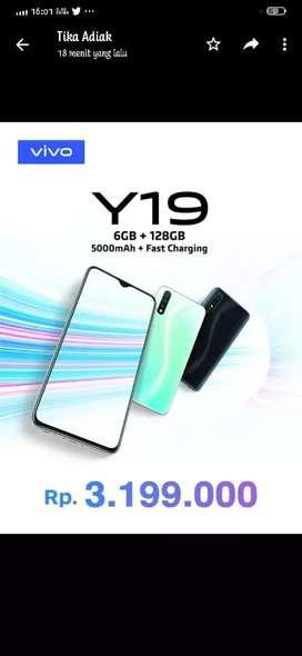 Vivo Y19 Gadget Gaming 6GB Ram/128GB Rom