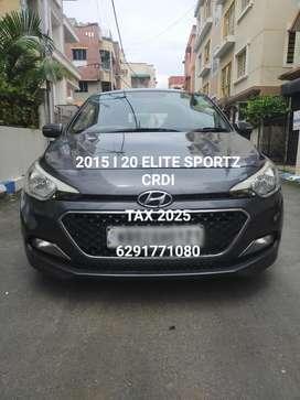 Hyundai Elite I20 Sportz 1.4, 2015, Diesel