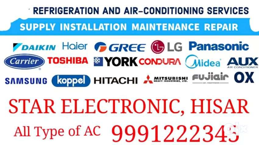 AC service by Machine 0