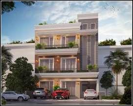 3Bhk+ servant room TDI city Airport road Mohali