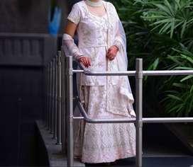 Bridal Pink Color Designer Lehenga - XL Size - 2019 model