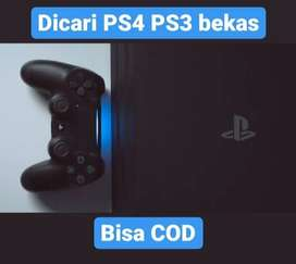 KAMI BELI PS3/PS4 BEKAS NORMAL PAKAI ANDA