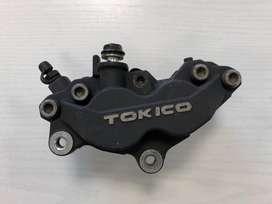 Kaliper caliper Tokico 4 piston 1 pin copotan zx6
