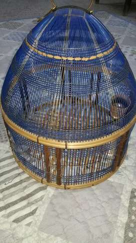 Dark blue shining cage