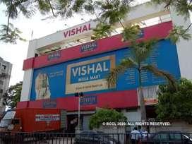 Urgent hiring in Vishal mega Mart for freshers candidate
