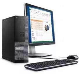 DELL desktop cor i5 4gen 8gb ram 500gb LCD
