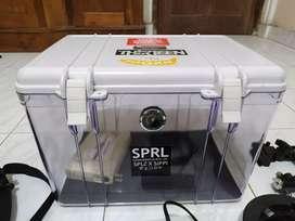 Dry box kamera/lensa+mesin elecktrik