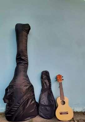 Tas Bas gitar& ukulele elektik