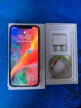 Iphone x 64gb Full kit Mint condition