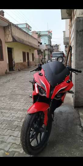 Bajaj pulsar rs200 red color