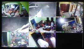 CCTV bermutu tinggi || 2 channel 2 megapixel All in