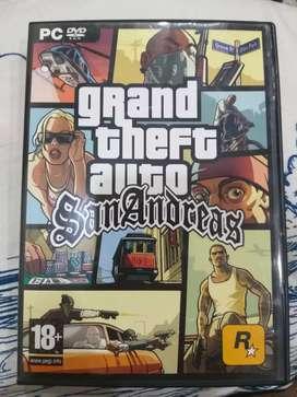 Gta San Andrea's CD for PC