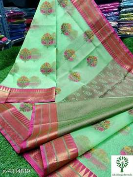 Organza Sarees cash on delivery available free shipping available