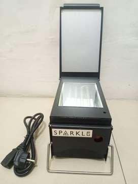 mesin stempel flash sparkle